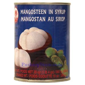 Picture of Cock Brand Mangosteen in Syrup 20 Oz