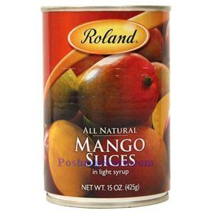 图片 Roland牌淡糖水芒果片 425克
