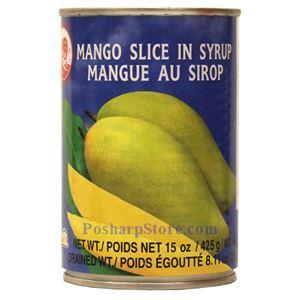 图片 鸡牌淡糖水芒果片 425克