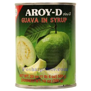 Picture of Aroy-D Guava in Syrup 20 Oz