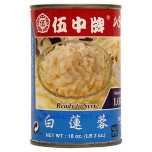 Picture of Wu Chung White Lotus Paste 18 Oz