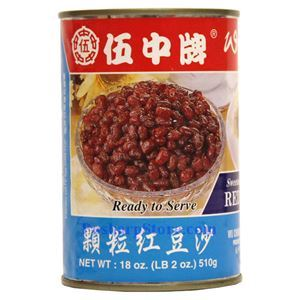 Picture of Wu Chung  Whole Red Bean Paste 18 Oz