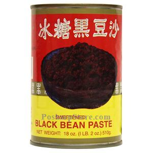 Picture of Wu Chung Black Bean Paste with Crystal Sugar 18 Oz