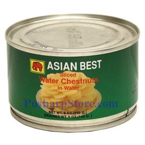 Picture of Asian Best Sliced Water Chestnuts in Water 8 Oz