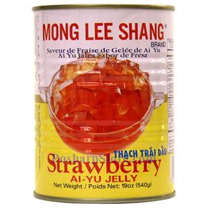 Picture of Mong Lee Shang Strawberry Aiyu Jelly 19 Oz