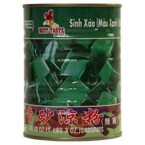 Picture of Best Taste Green Grass Jelly 19 Oz