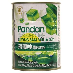 Picture of Mong Lee Shang Pandan Flavored Grass Jelly 19 Oz