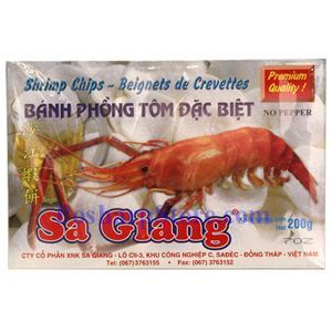 Picture of Sa Giang Premium Shrimp Chips 7 Oz
