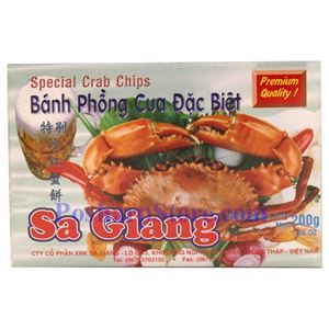 Picture of Sa Giang Special Crab Chips 7 Oz
