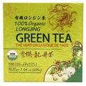 Picture of Best Taste 100% Organic Longjing Green Tea 100 Teabags