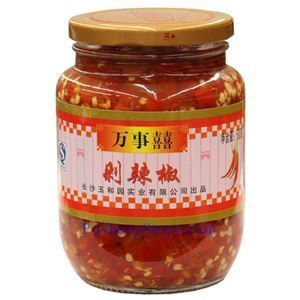 Picture of Wanshixi Hunan Style Chopped Pickled Red Chili Peppers (Duolajiao) 1.1 Lbs