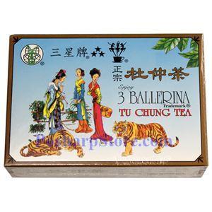 Picture of 3 Ballerina Tu Chung Tea (Eucommia leaf Tea)