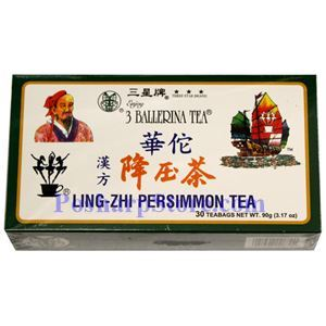 Picture of 3 Ballerina Ling-Zhi  Persimmon Tea 30 Tea Bags