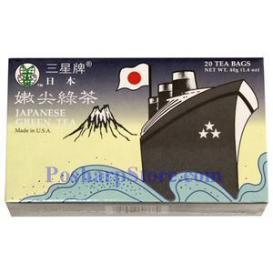 Picture of 3 Ballerina  Japanese Green Tea 20 Tea Bags