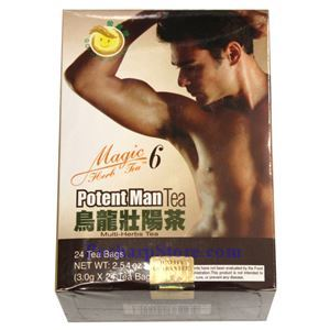 Picture of Golden Child Oolong Potent Man Multi Herbal Tea (Magic 6)  24 Teabags
