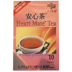 Picture of Prince Gold Heart Mate Tea 10 Sachets