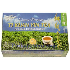 Picture of Prince of Peace Chinese Premium Ti Kuan Yin Tea 100 Teabags