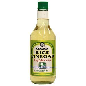Picture of Kikkoman Rice Vinegar Bring Salad to Life 20 Fl oz