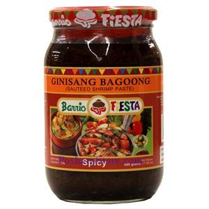 Picture of Barrio Fiesta Spicy Sauteed Shrimp Paste (Ginisang Bagoong) 17.6 Oz