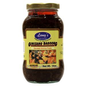 Picture of Leong's Regular Sauteed Shrimp Paste (Ginisang Bagoong) 14 Oz