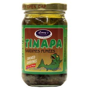 Picture of Leong's Smoked Sardines in Oil (Tinapa) 8 Oz