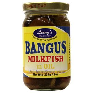 Picture of Leong's Milkfish in Oil (Bangus) 8 Oz