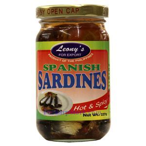 Picture of Leong's Hot & Spicy Spanish Sardines 8 Oz