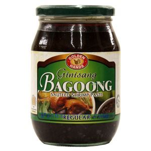 Picture of Golden Hands Regular Sauteed Shrimp Paste (Ginisang Bagoong) 17.6 Oz