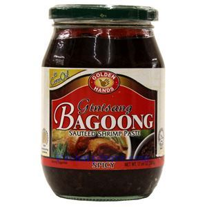 Picture of Golden Hands Spicy Sauteed Shrimp Paste (Ginisang Bagoong) 17.6 Oz