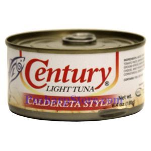Picture of Century Light Tuna with Caldereta Style 6.4 oz
