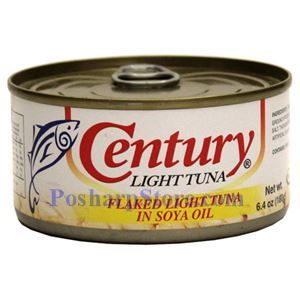 Picture of Century Light Tuna  Flaked in Soya Oil  6.4 oz