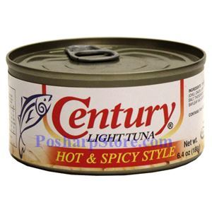 Picture of Century Light Tuna  With Hot & Spicy Style 6.4 oz