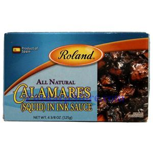Picture of Roland All Natural Calamares (Squid) with Ink Sauce 4.3 oz