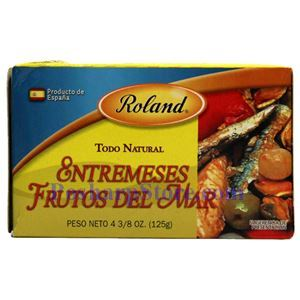图片 Roland牌西班牙开胃海鲜 125克