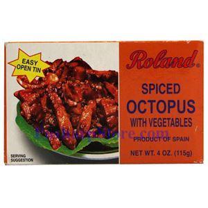 图片 Roland牌西班牙美味章鱼 115克