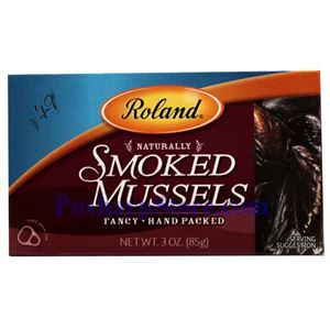 Picture of Roland Smoked Mussels 4 oz