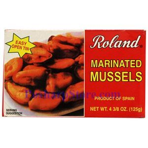 Picture of Roland Marinated Mussels  4 oz
