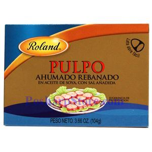 图片 Roland牌西班牙熏制章鱼 104克