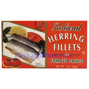Picture of Roland Herring Fillets in Tomato Sauce 7 oz