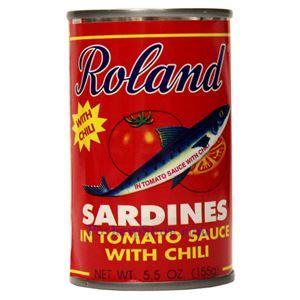 图片 Roland 牌辣味番茄沙丁鱼 155克