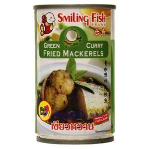 Picture of Smiling Fish Green Curry Fried Mackerels 5.5 Oz