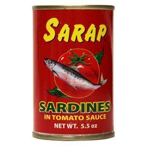 Picture of Sarap Sardines in Tomato Sauce 5.5 Oz