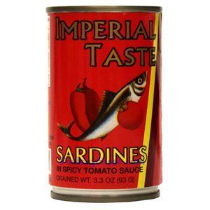 图片 Imperial Taste牌辣番茄沙丁鱼 93克