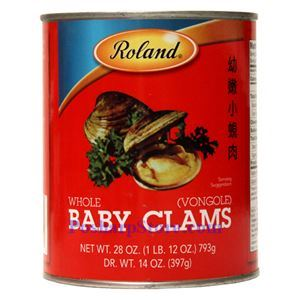 图片 Roland牌幼嫩小蛤蜊 793克