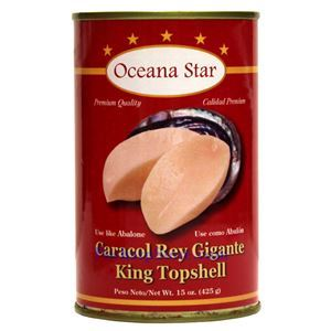 Picture of Oceana Star Abalone King TopShell (Caracol Rey Gigante) 15 Oz