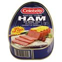 Picture of Celebrity Boneless Cooked Ham with Natural Juices 12 oz