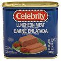 图片 Celebrity 牌猪肉鸡肉午餐肉 340克