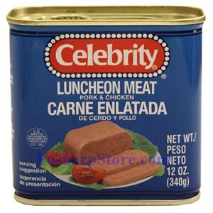 Picture of Celebrity Pork & Chicken Luncheon Meat 12 oz