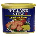 Picture of Holland View  Smoked Chicken & Pork Luncheon Meat 12 oz