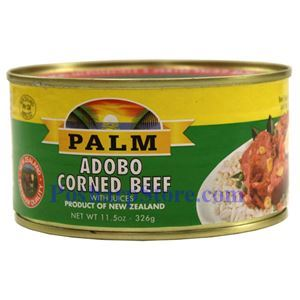 Picture of Palm Adobo Corned Beef With Juices 12 oz